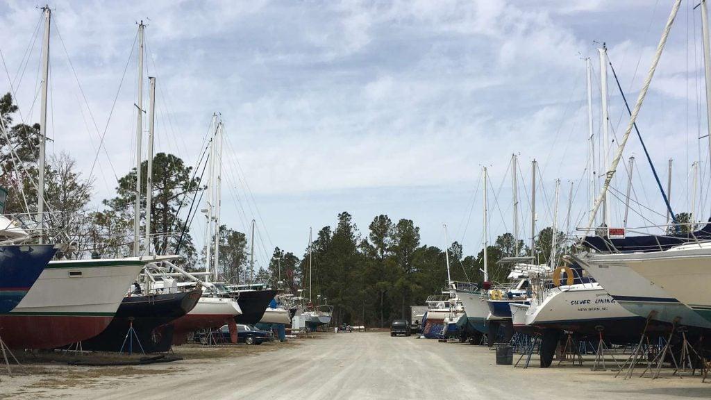 boat dry storage