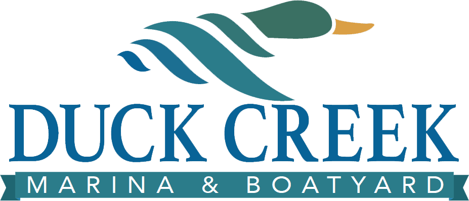 duck creek marina and boatyard logo
