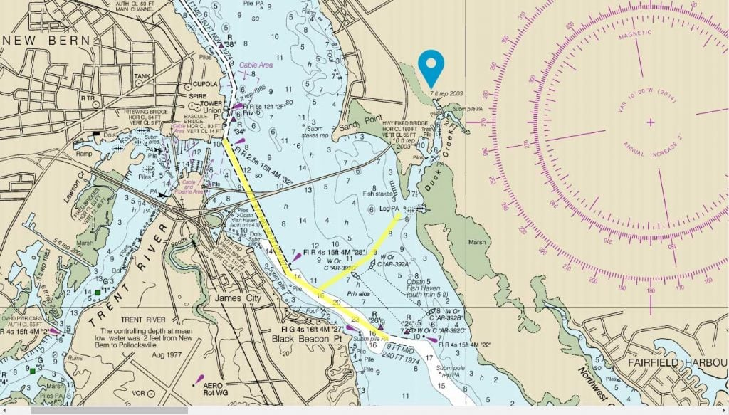 boating directions to duck creek marina and boatyard